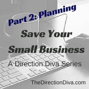Planning: Save Your Small Business Series by Judy Davis, The Direction Diva
